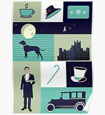 Downton Abbey - Collage Poster