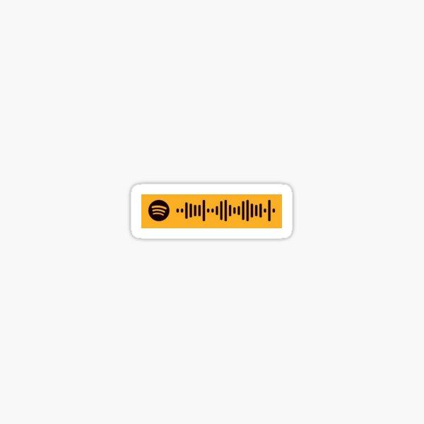 Hey Ya!, OutKast - Spotify Scan Code  Sticker