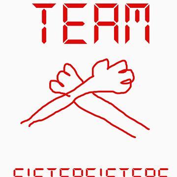 TEAM SISTER FISTERS by ninjafish1995