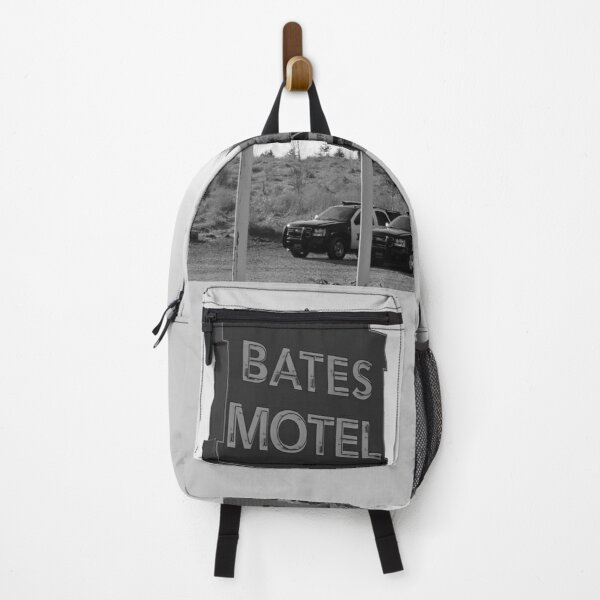Bates Motel - Sign and cars Backpack