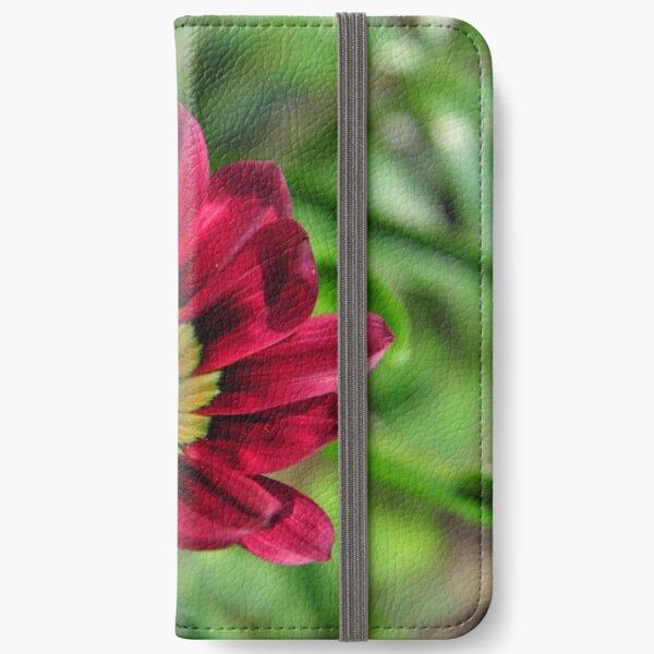 Blooming Red Flower ! iPhone Wallet