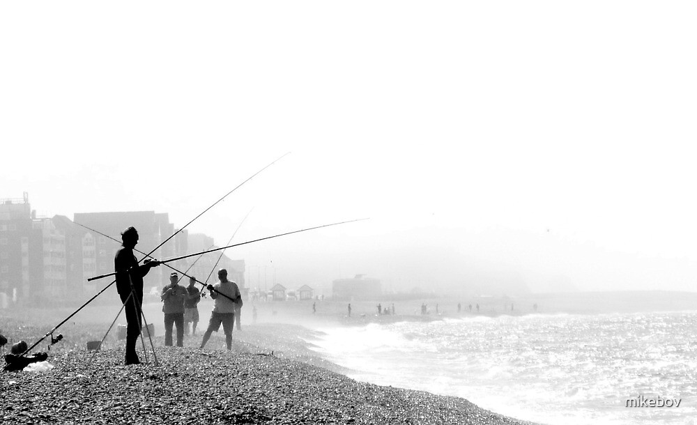 Hazy Days Fishing by mikebov