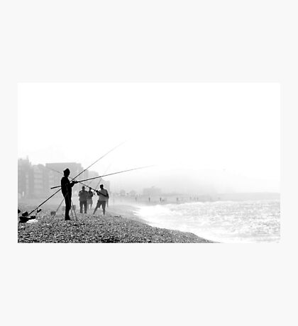 Hazy Days Fishing Photographic Print