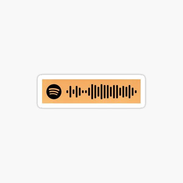Bohemian Rhapsody, Queen - Spotify Scan Code  Sticker