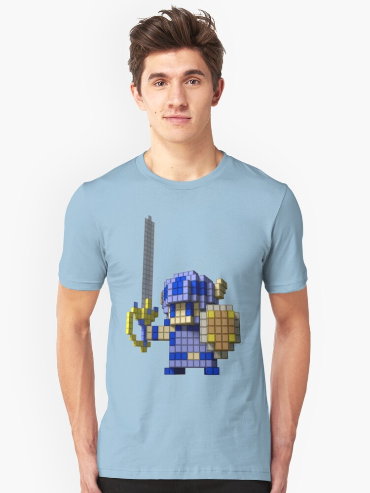 3D Dot Game Heroes Unisex T-Shirt Front