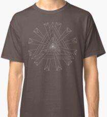 Sacred Geometry - T-Shirt/Hoodie - White Design Classic T-Shirt
