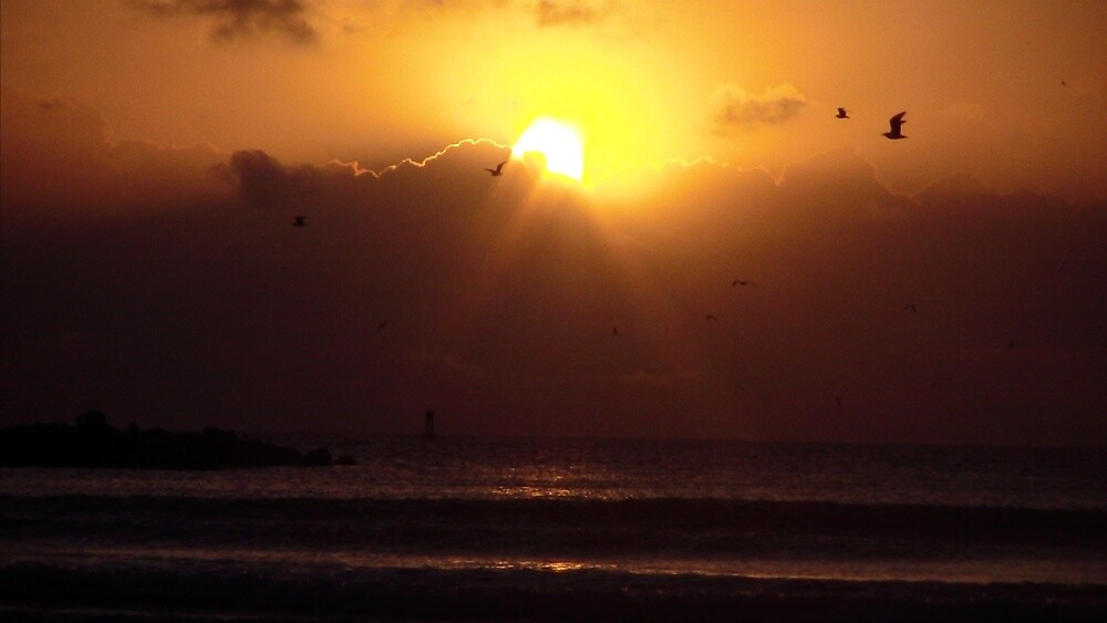 Sun Rise at Cape Canaveral Beach by Trevor0208