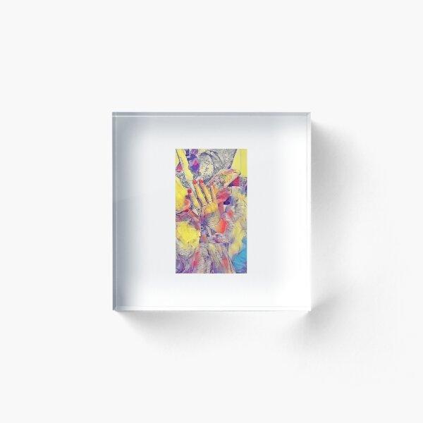 MARLENA  Bloc acrylique