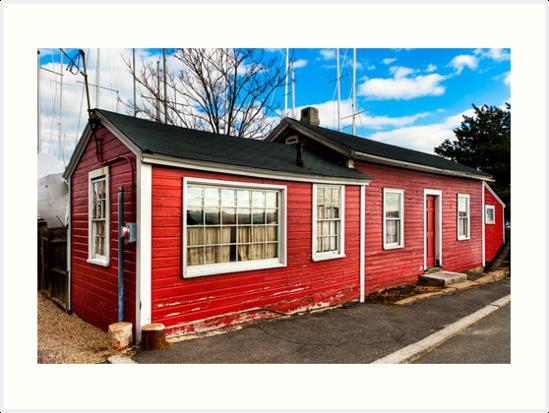 Fisherman's House - Salem Massachusetts  by Mark Tisdale