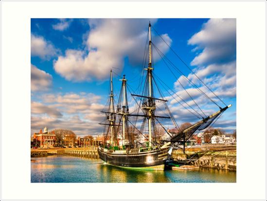 Friendship of Salem - Massachusetts Sailing Ship by Mark Tisdale