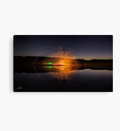 Sparkly Symmetry Canvas Print