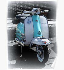 Lambretta Li 125 series 2  Poster
