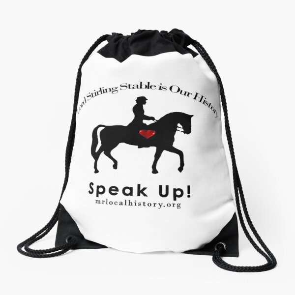 Lord Stirling Stable Needs You Drawstring Bag