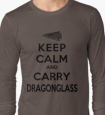 Keep Calm: Dragonglass (Black) T-Shirt