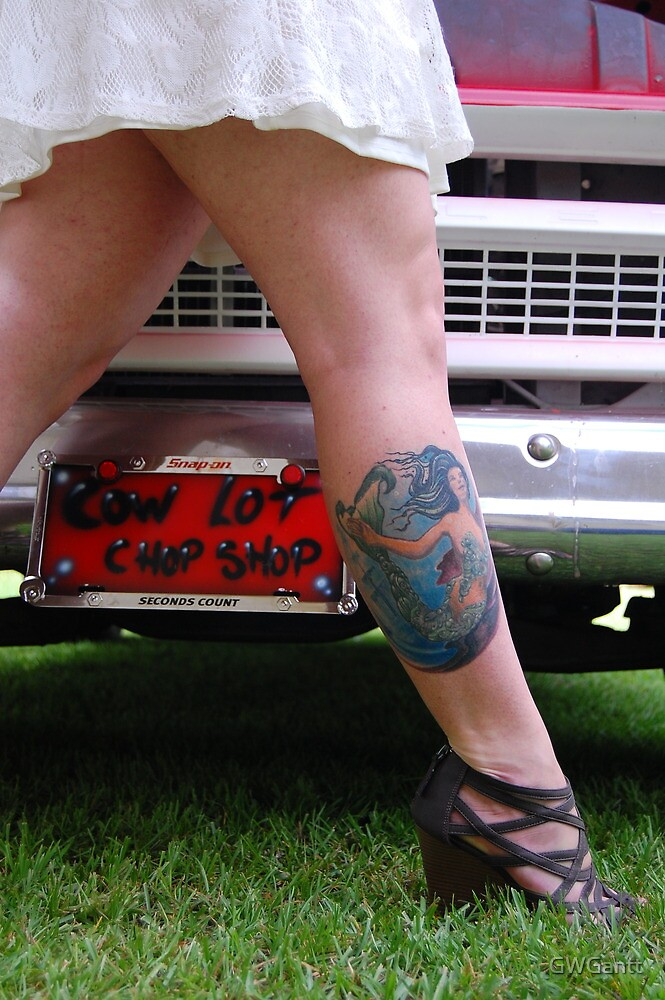 Vanity tag and tattoo by GWGantt