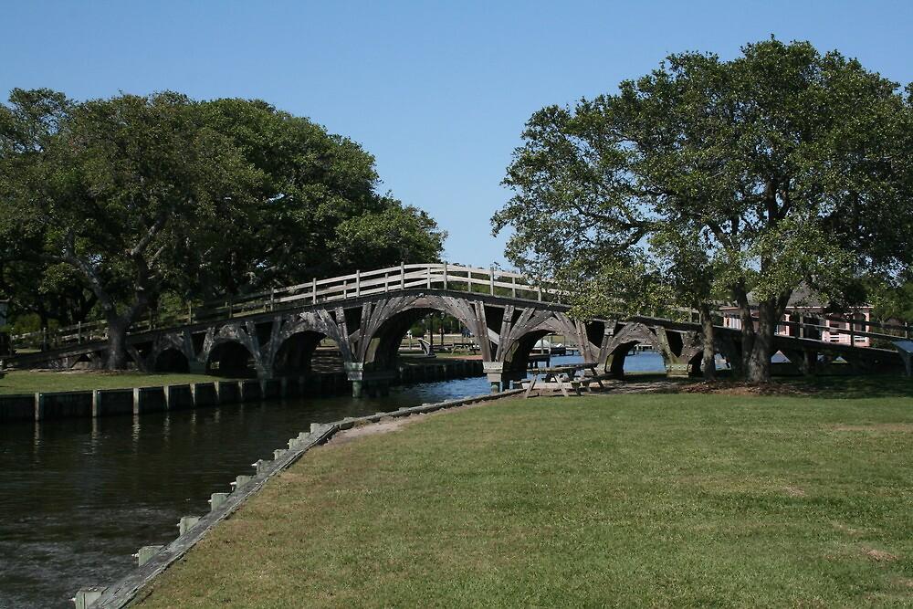 Currituck Bridge by Karen Harrison