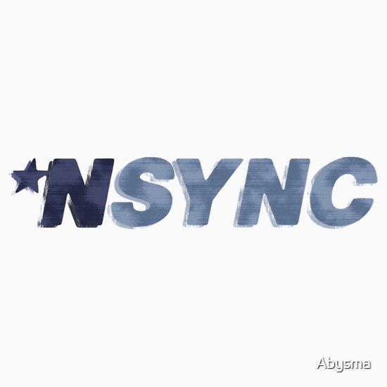 TShirtGifter presents: Nsync - weathered logo | Unisex T-Shirt