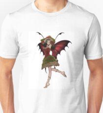 Christmas Fairy Elf Girl Unisex T-Shirt