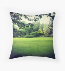 Harlow Carr - rainy day! Throw Pillow