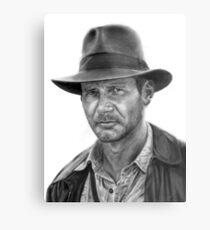 Indiana Jones Metal Print