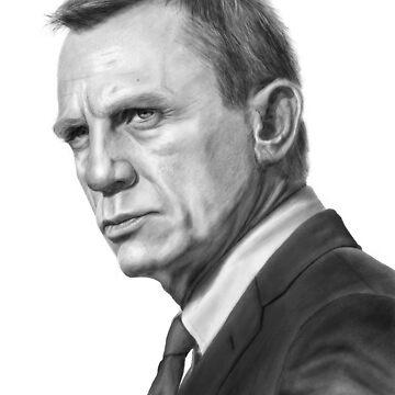 Daniel Craig (James Bond) by robo3687