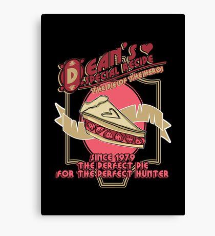 Dean's Special Recipe Canvas Print