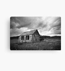 Abandoned Farmhouse Canvas Print