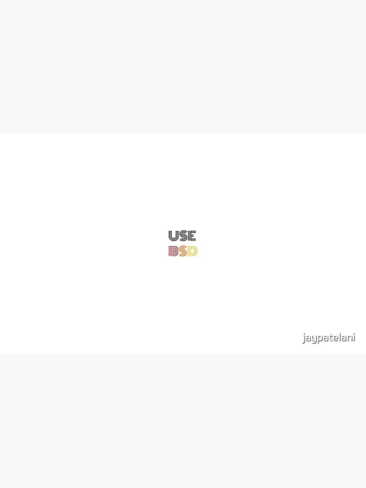 USEBSD by jaypatelani