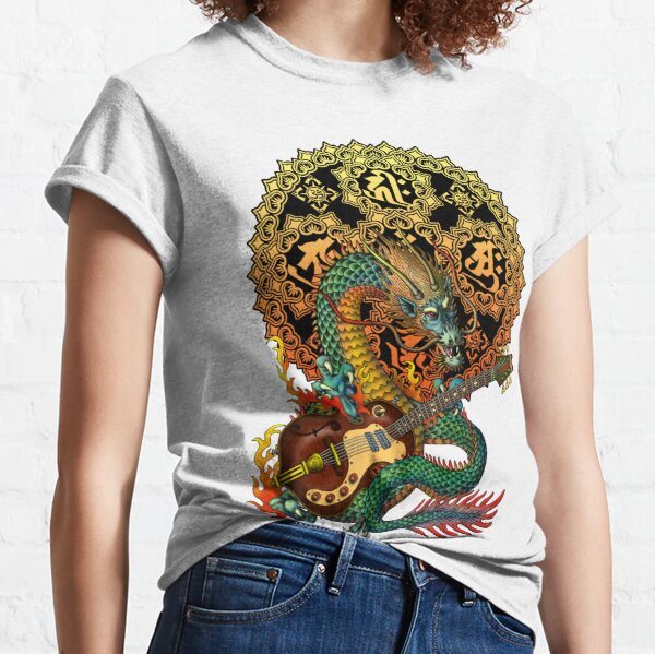 Dragon guitar  Classic T-Shirt