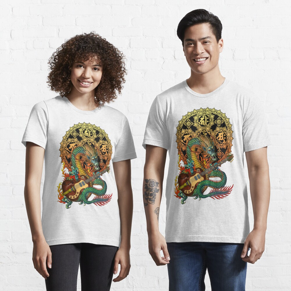 Dragon guitar  Essential T-Shirt