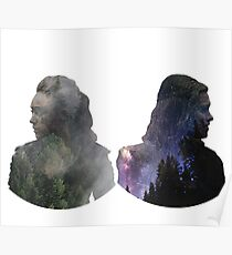Clexa - The 100 Poster