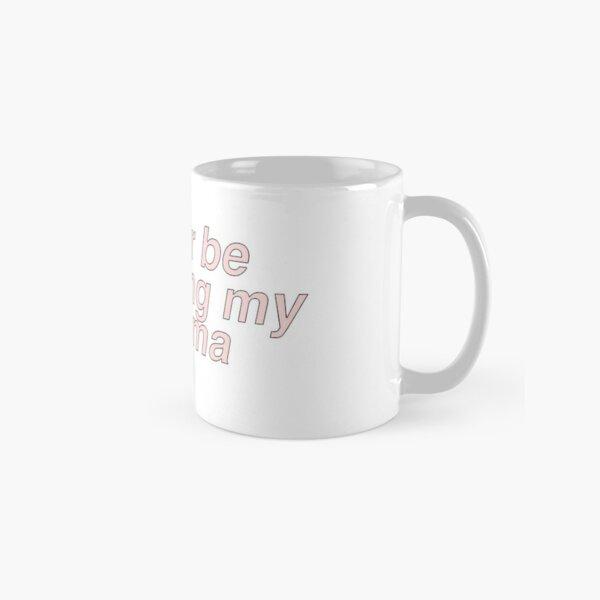 rather be watching my kdrama Sticker Classic Mug