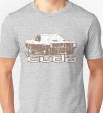 Distressed 'Cuda Unisex T-Shirt