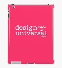 Universal Design iPad Case/Skin