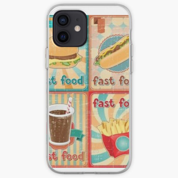 Fast food pone case iPhone Soft Case