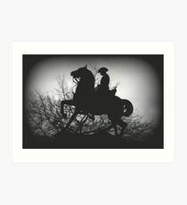 Australian Light- Horsemen Art Print