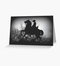 Australian Light- Horsemen Greeting Card