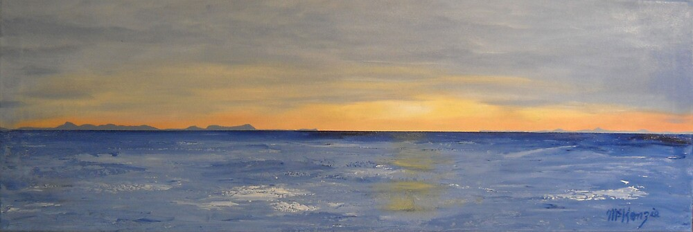 """""""The Minch at Sunset""""  by rmckenzie"""