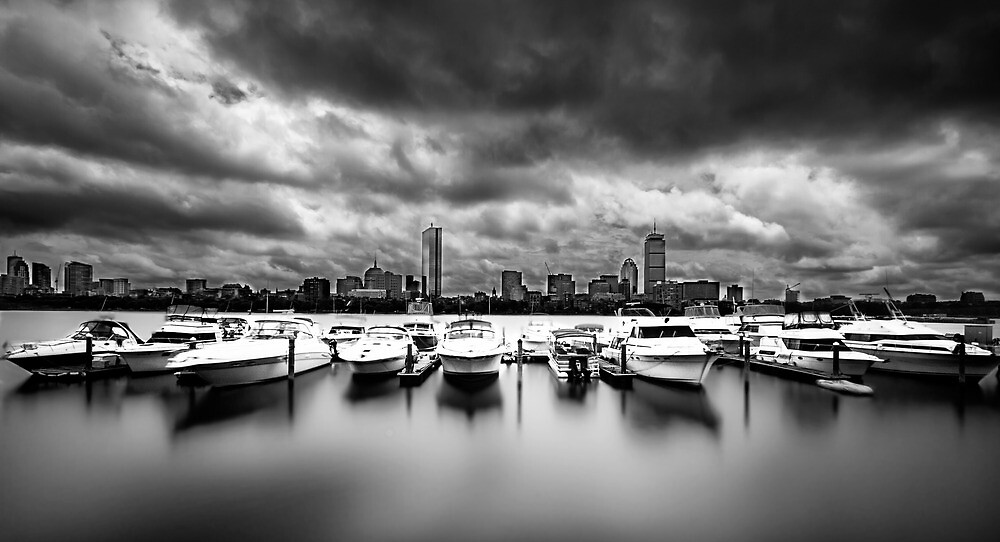 stormy boston by Kerim Hadzi