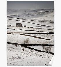 Weardale Snow Poster