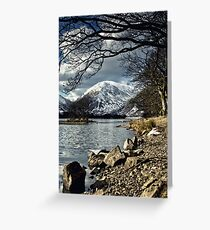 Brotherswater Winter Greeting Card
