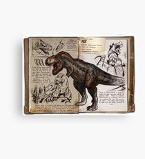 Ark T-Rex Canvas Print