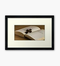 religion Framed Print