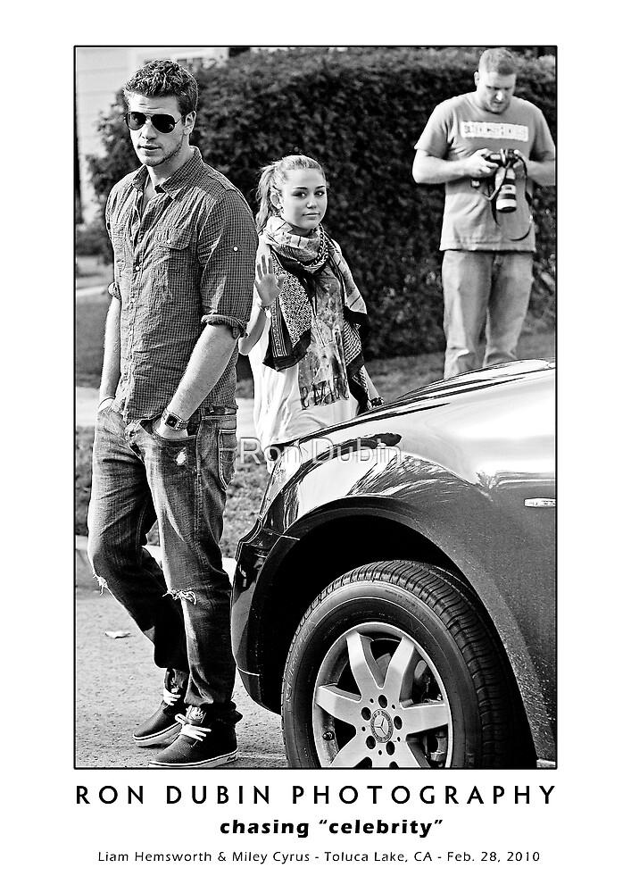 Miley Cyrus & Liam Hemsworth - Waving Goodbye by Ron Dubin