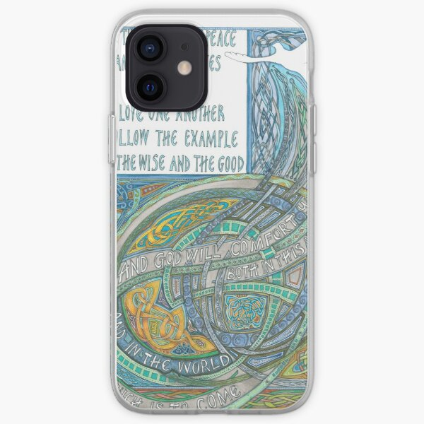 St Columba's Blessing iPhone Soft Case