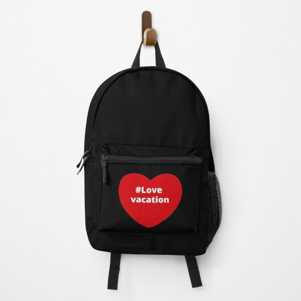 Love Vacation - Hashtag your i Love Heart  Backpack