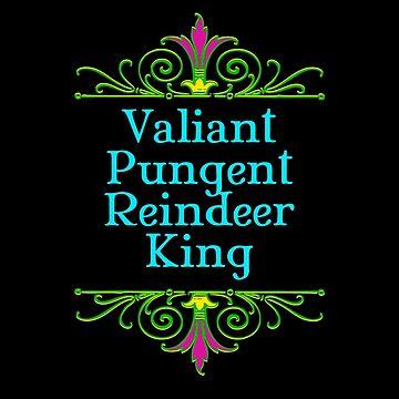 Valiant Pungent Reindeer King by HarrisonAmy
