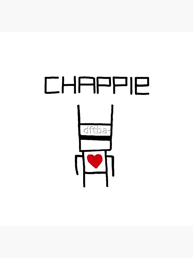 Yolandi's Chappie Shirt by dftba-