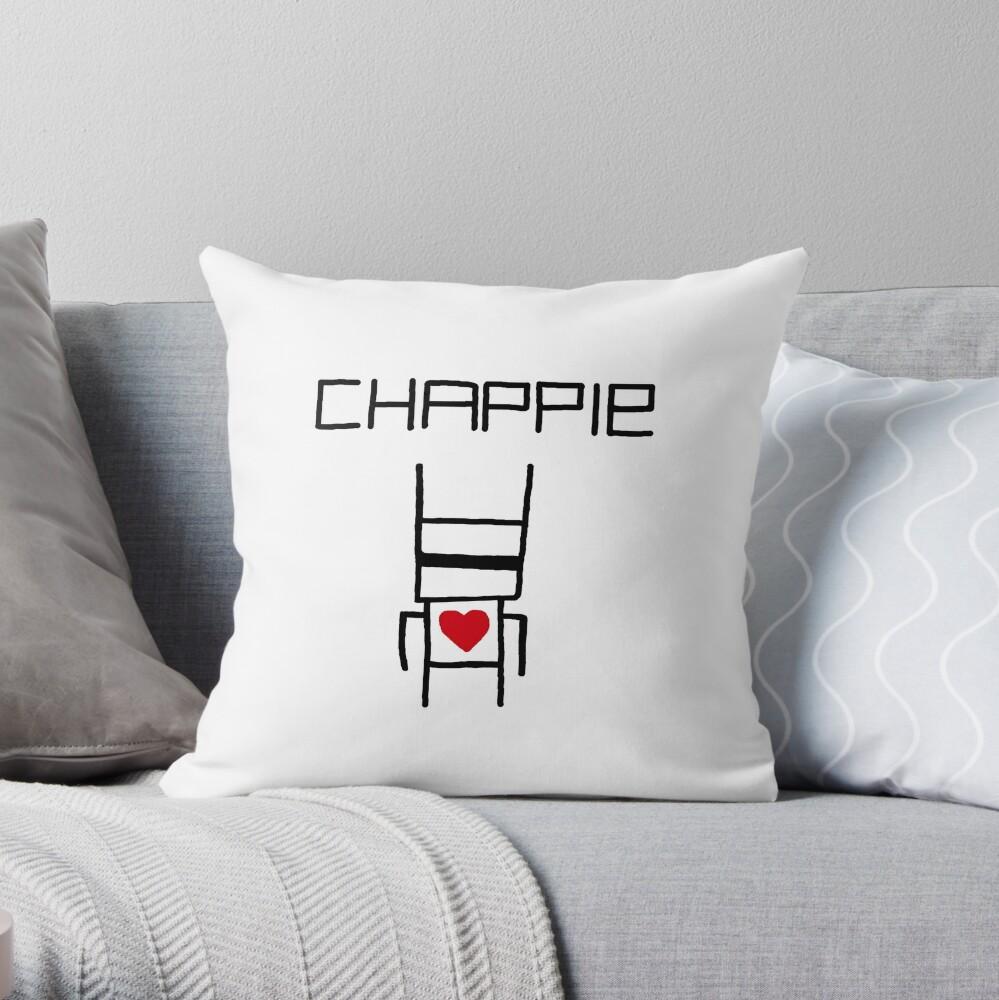Yolandi's Chappie Shirt Throw Pillow