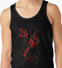 Camiseta de tirantes Ronin Kanji